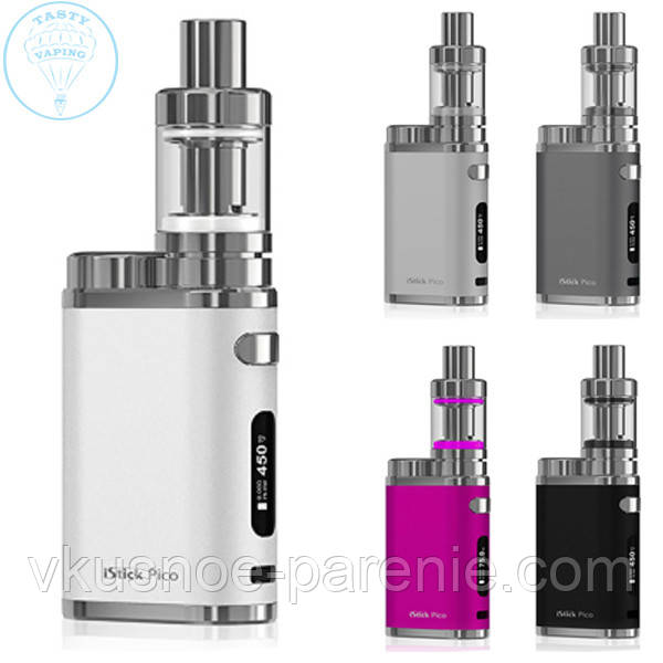 Eleaf iStick Pico 75W + Mello3 Kit (Стартовый набор) разные цвета