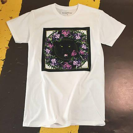 Хлопковая белая футболка унисекс Givenchy, фото 2