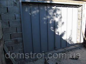 Распашные гаражные ворота, фото 2