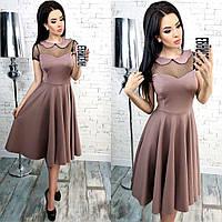 Женское нарядное платье мод. 263