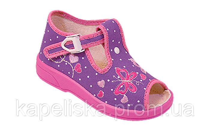 Zetpol Marcelina  Марселіна тапочки для девочки, босоножки , босоніжки