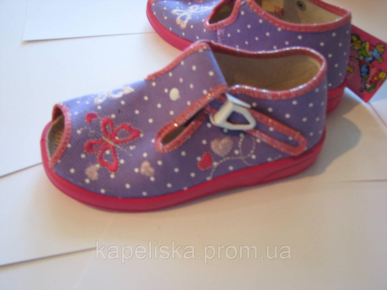 Zetpol Marcelina  Марселіна тапочки для девочки, босоножки , босоніжки 2