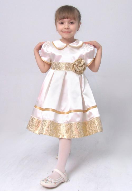 """Платье нарядное детское с подъюбником, пышное М -915 рост 98  116  тм """"Попелюшка"""""""