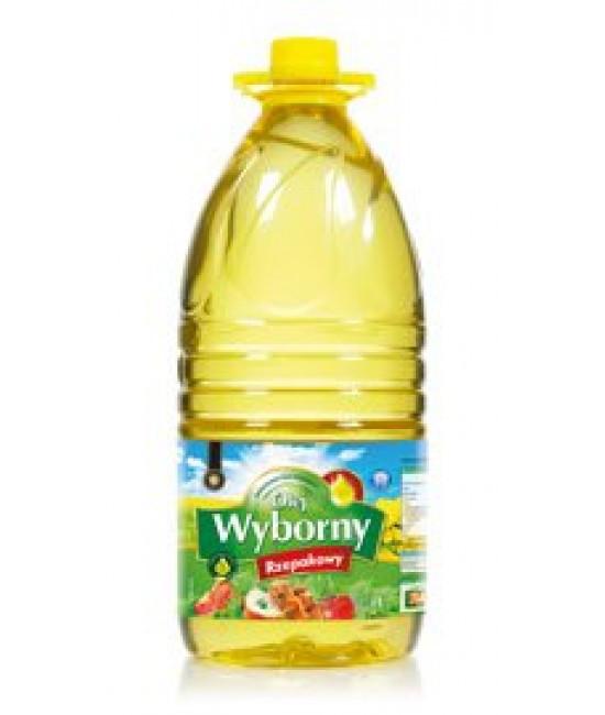 Масло рапсовое Wyborny 3л