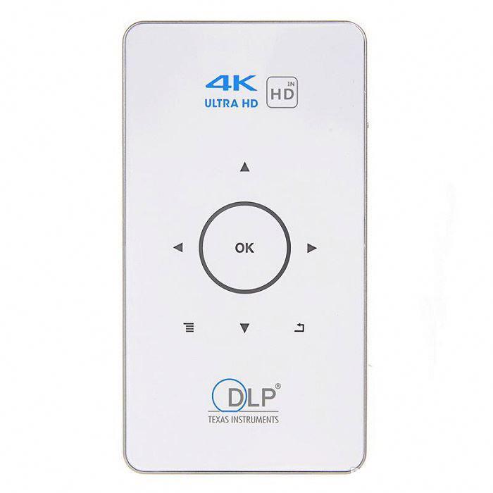 Мини проектор SUNROZ C6 мультимедийный карманный проектор с динамиком Android,Bluetooth,Wifi,4000 mAh(SUN0749)