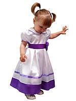 """Платье нарядное детское с подъюбником, пышное М -915 рост 98 110 116 тм """"Попелюшка"""""""