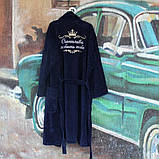 Именной халат. Мужской махровый халат, фото 3