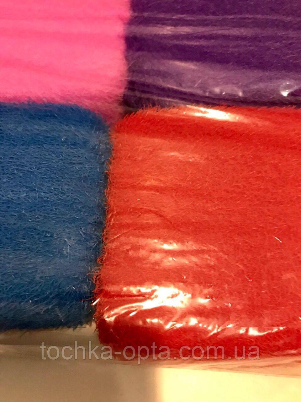 Мочалка антицелюлитная цветная 10\14 см