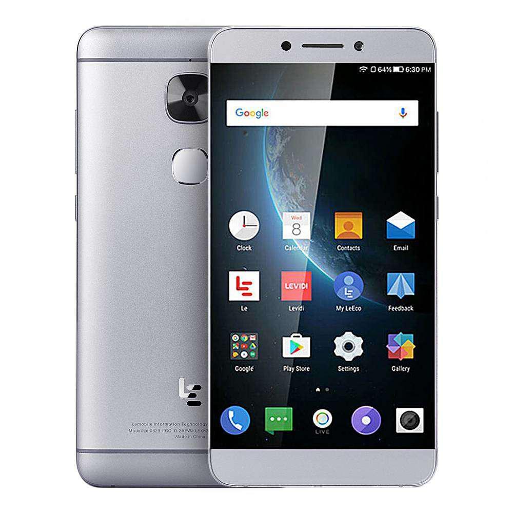 "Смартфон LeTV LeEco Le Max 2 X829 6/128GB Gray, 21/8Мп, 5.7"" IPS, 3100mAh, 2sim, Snapdragon 820, 4G (LTE)"