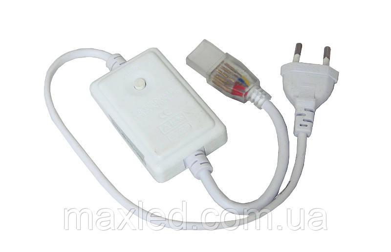 Конектор для ленты RGB 5050 в розетку  220В