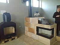 Теплоемкая оболочка для каминных топок GNS