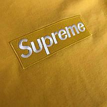 Хлопковая желтая футболка унисекс SUP, фото 3