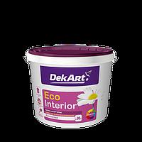 """Водно-дисперсионная краска для внутренних работ моющаяся TM """"DekART"""" Eko Interrior - 3,0 л. (4,0 кг.)"""