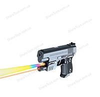 Пистолет игрушечный с лазером