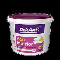 """Водно-дисперсионная краска для внутренних работ моющаяся TM """"DekART"""" Eko Interrior - 5,0 л. (6,3 кг.)"""
