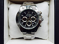 Наручные часы rolex daytona silver black 2205 (копия)