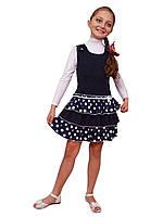 М -918-1 Сарафан детский для девочки трикотажный   рост  122