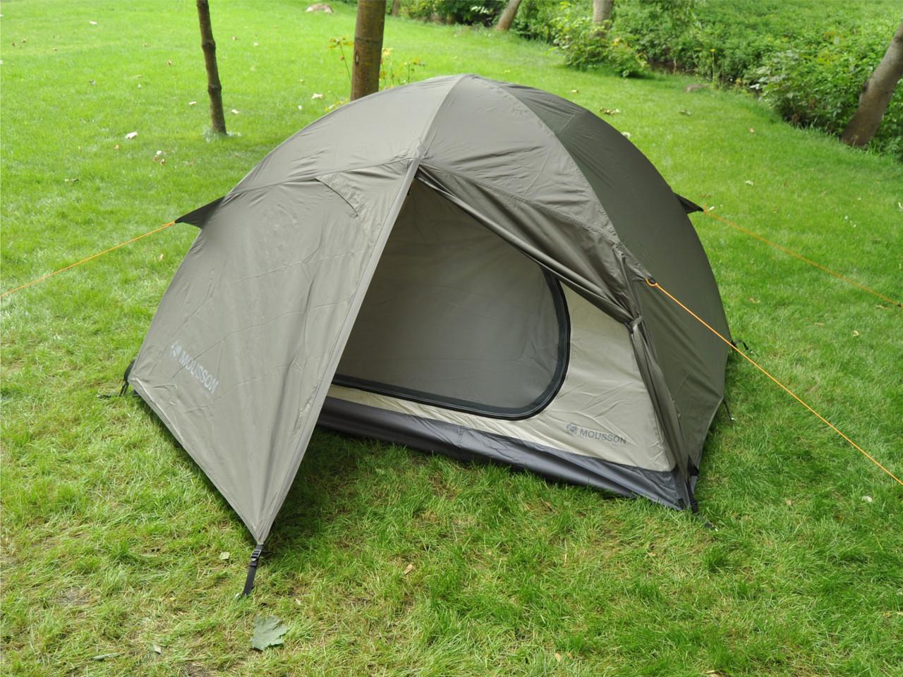 Палатка двухместная туристическая MOUSSON DELTA 2 KHAKI