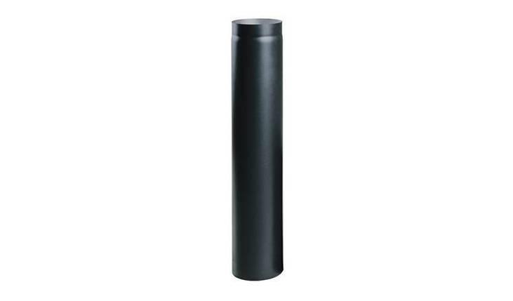 Жаропрочная дымоходная труба 1 м. диаметр 130мм.., фото 2