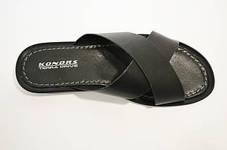 Шлепанцы мужские кожаные Konors 777, фото 3
