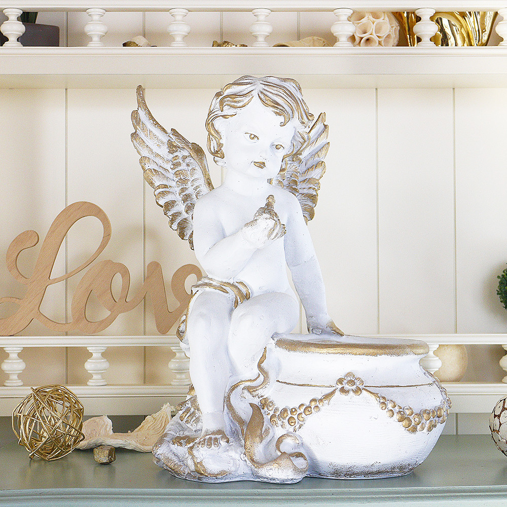 Ангел кашпо 31 см
