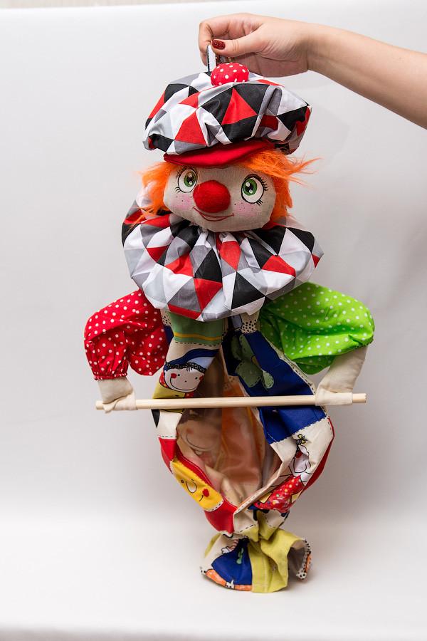 Пакетница кукла Клоун