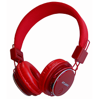 Наушники беспроводные Atlanfa 7611 red красные. Bluetooth, FM, MP3, Microphone