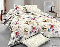 Комплект полуторный постельное белье сатин (пододеяльник, 2 наволочки, простынь) ТМ Руно 1.137К_Paris