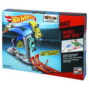 Трек с машинкой Двойной прыжок Hot Wheels (Хот Вилс), фото 3