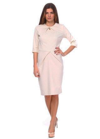 Нарядное платье офисного стиля. Платье Виолетта