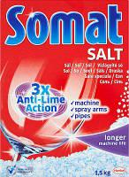 Соль для посудомоечной машины Somat Salt  1,5 кг