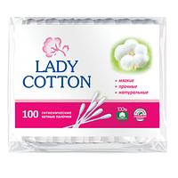 Ватные палочки Lady Cotton 100 шт. (пакет)