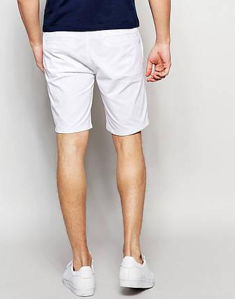 e3fddf69fd6d Мужские белые шорты чинос