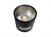 Светодиодный светильник 20Вт SN20CWRX 100мм (накладной) ЧЕРНЫЙ, фото 1