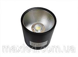 Светодиодный светильник 20Вт SN20CWRX 100мм (накладной) ЧЕРНЫЙ