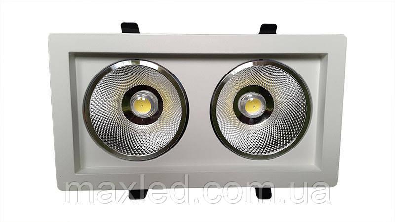 Светодиодный светильник 36Вт SC36CWK 240x125мм
