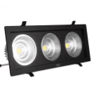 Светодиодный светильник 54Вт SC54CWK BL 260x130мм ЧЕРНЫЙ, фото 1