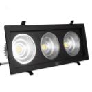 Светодиодный светильник 54Вт SC54CWK BL 260x130мм ЧЕРНЫЙ