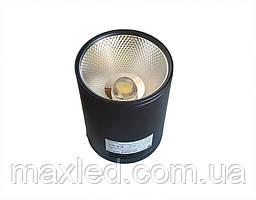 Светодиодный светильник 30Вт SN30CWRX BL100мм (накладной) ЧЕРНЫЙ