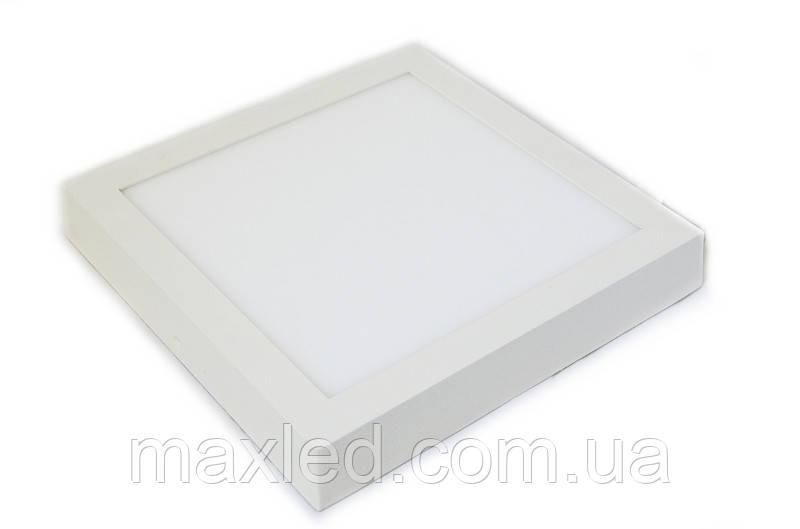 Светодиодный светильник 18Вт SN18CWК  220х220мм (накладной)