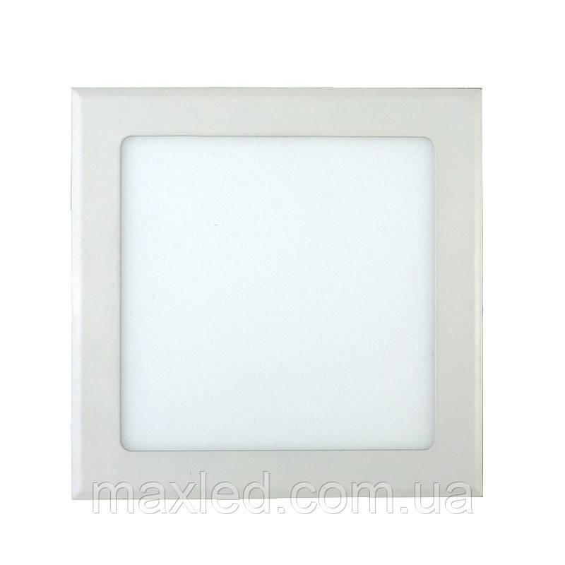 Світлодіодний світильник 12Вт SL12WWK 170х170мм