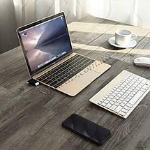 2 в 1 OTG адаптер Ugreen Micro USB + USB-C к USB3.0 30453 (Черный), фото 3