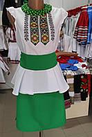 """Модне літнє плаття """"Надія"""" зелене"""