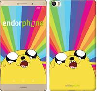 "Чехол на Huawei P8 Max Adventure Time. Jake v3 ""2449u-371-9697"""