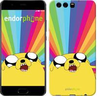 "Чехол на Huawei P10 Adventure Time. Jake v3 ""2449c-780-9697"""