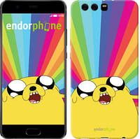 "Чехол на Huawei P10 Plus Adventure Time. Jake v3 ""2449u-963-9697"""