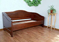 """Односпальная кровать из серии """"Барселона"""". Массив дерева - ольха."""