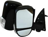 Зеркало боковое Газель черное с поворотом Vitol