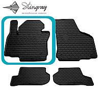 Seat Leon III 2004-2012 Водительский коврик Черный в салон