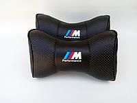 Подушка на подголовник BMW M-Performance черная 00114